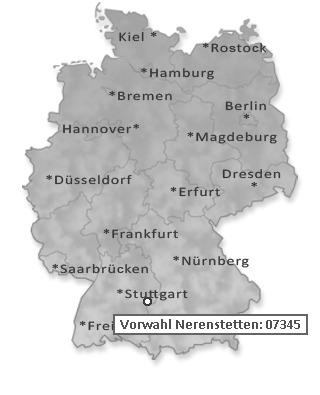 Vorwahl 381 Deutschland