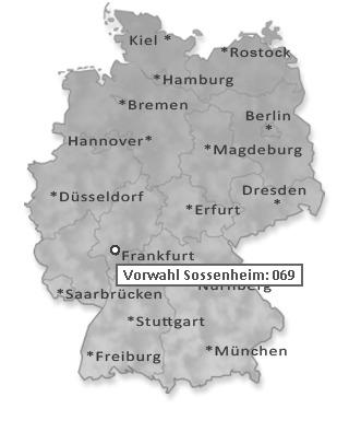 Frankfurt Telefonvorwahl