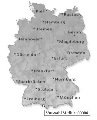 Vorwahl Telefon Steibis Oberstaufen 08386